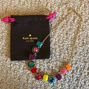 Kate Spade Gem Stone Statement Necklace